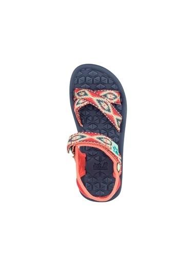 Jack Wolfskin Jack Wolfskın Zulu Çocuk Sandalet Renkli